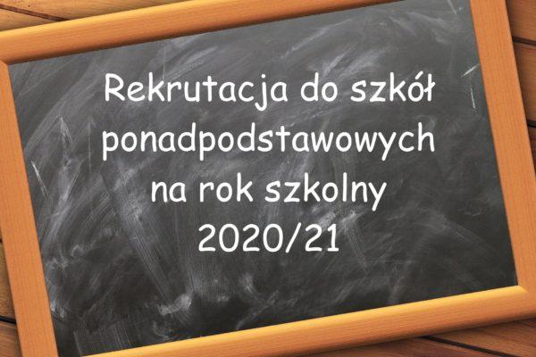 Miniaturka artykułu Rekrutacja do szkół ponadpodstawowych