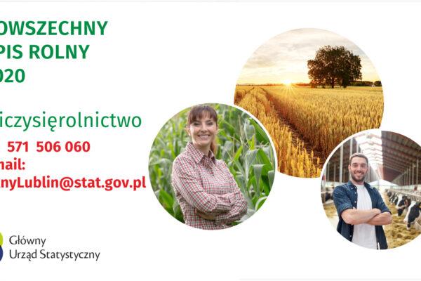 Miniaturka artykułu Spis Rolny 2020 – komunikat Urzędu Statystycznego w Lublinie